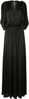 Maison Rabih Kayrouz Draped Evening Gown