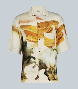 Acne Studios Simon Horse short-sleeved shirt