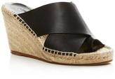 Vince Suraya Espadrille Wedge Mule Sandals