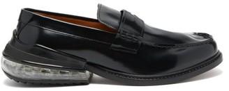 Maison Margiela Airbag Heel Leather Loafers - Mens - Black