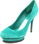 BCBGMAXAZRIA Haile Women US 9.5 Green Platform Heel
