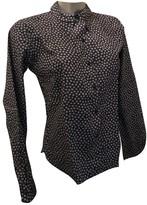 agnès b. Navy Cotton Top for Women