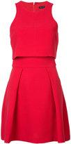 Black Halo structured sleeveless dress - women - Spandex/Elastane/Polyimide - 2