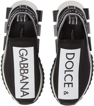 Dolce & Gabbana Sorrento Logo Slip-On Sneaker