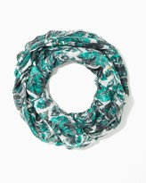 Charming charlie Sequin Rose Infinity Scarf