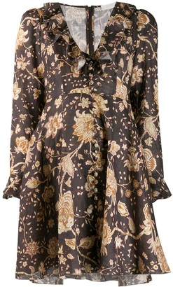 Zimmermann paisley V-neck dress