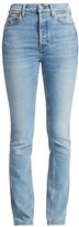 RE/DONE Comfort Stretch High Rise Straight Jeans