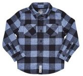 F&F Checked Brushed Cotton Shirt, Toddler Boy's