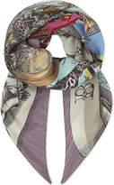 Gucci Geometric Silk Scarf