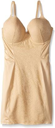 Flexees Women's Maidenform Shapewear Pretty Foam Cup Slip with Lace