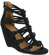 Mia Dylon Strappy Wedge Sandals
