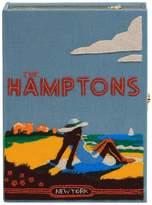 Olympia Le-Tan Olympia Le Tan The Hamptons Strapped Book Clutch Bag