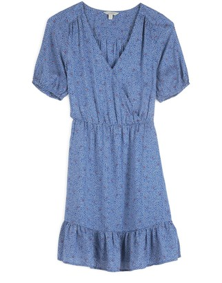 Lucky Brand Polka Dot Mila Wrap Dress