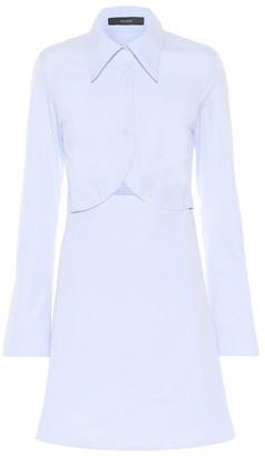 Ellery Double Helix cotton shirt dress