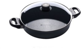 """Swiss Diamond Hd Induction Sauteuse with Lid - 11"""" , 3.7 Qt"""