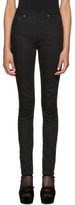 Saint Laurent Black High-waisted Skinny Jeans