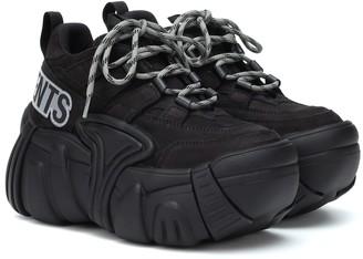 Vetements x SWEAR nubuck platform sneakers
