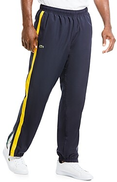 Lacoste Water-Repellant Color Blocked Joggers