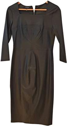 Baukjen Black Leather Dress for Women