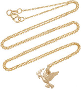 With Love Darling Peace 14K Gold Necklace