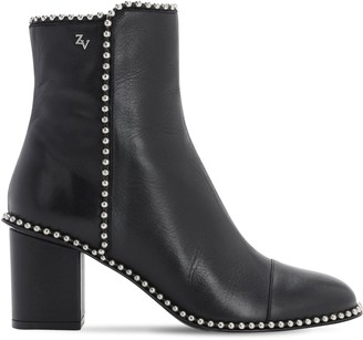 Zadig & Voltaire 70mm Lena Smooth Leather Boots