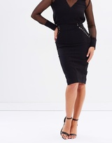 Bless'ed Are The Meek Midnight Skirt