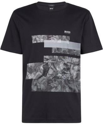 BOSS Abstract Logo T-Shirt