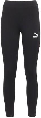 Puma Select Classic Logo Stretch Cotton Leggings