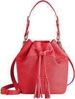 GiGi New York Women's Jenn Drawstring Bucket Bag