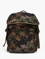 Valentino Camustar Nylon Backpack
