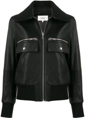 BA&SH Astor rib-trimmed jacket