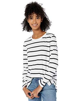 Goodthreads Washed Jersey Cotton Long-sleeve Crewneck T-shirt(EU M - L)
