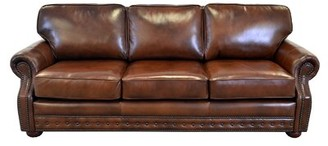 Westland and Birch Middleton Leather Sofa Upholstery Color: Burnham Oatmeal