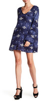 Lucy-Love Lucy Love Bell Sleeve Print Dress