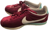 Nike Cortez Red Cloth Trainers