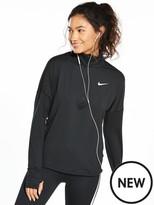 Nike Running Essential Shine Graphic 1/4 Zip Top