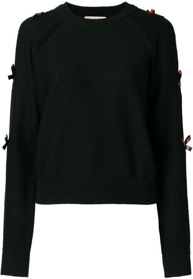 Emilio Pucci bow-embellished sweater