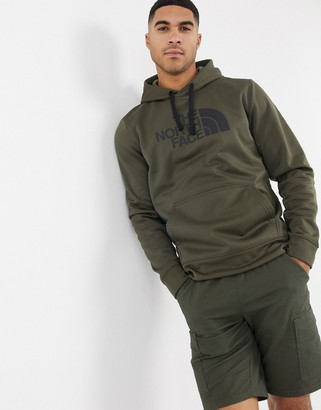 The North Face Surgent hoodie in green