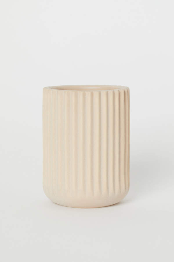 H&M Ceramic Toothbrush Mug