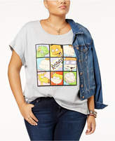 Hybrid Trendy Plus Size Rugrats Graphic T-Shirt