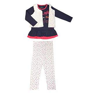 Camilla And Marc Girls Long Sleeve Pajamas Rainy Day + Vest - Size 2/3 Years (92/98 cm)