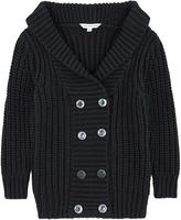 Little Marc Jacobs Casual cardigan with lurex