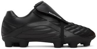 Balenciaga Black Soccer Sneakers
