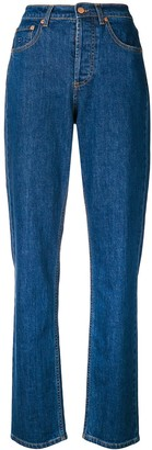 Philosophy di Lorenzo Serafini High Waist Straight Jeans