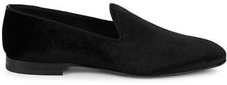 HUGO BOSS Glam Velvet Loafers