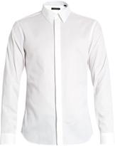 Calvin Klein Collection Single-cuff point-collar cotton shirt
