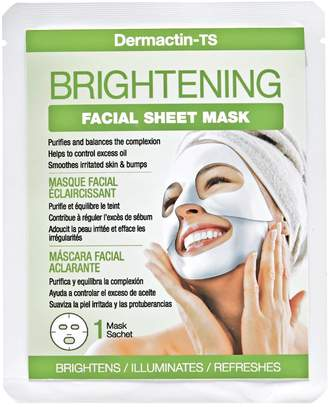 Dermactin-TS Dermactin Ts Brightening Facial Sheet Mask