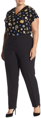 Anne Klein Stretch Slim Pants (Plus Size)