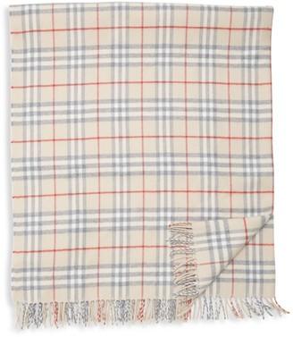 Burberry Vintage Check Wool Mermaid Blanket