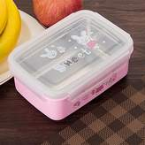 GreenSun(TM) Cute Stainless Steel Lunch Boxs Portable Bento Box Food Container Food Storage Box For Kids School Office